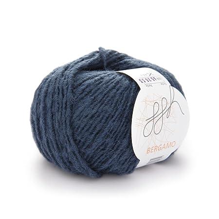 Bergamo Trendy Knitting Wool And Alpaca 50 G 100 M Night Blue