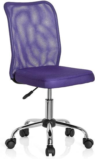 hjh OFFICE 685970 silla para niños KIDDY NET tejido de malla lila ...