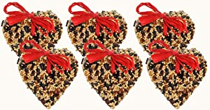 6-Pack of Mr. Bird LittleHeart Wild Bird Seed 4 oz.