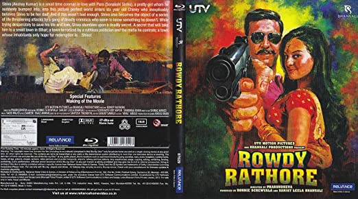 Rowdy Rathore Fully Boxed and Sealed Hindi Blu Ray with