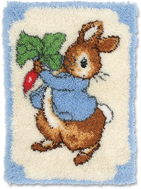 anchor 1 piece beatrix potter peter rabbit rug multi colour