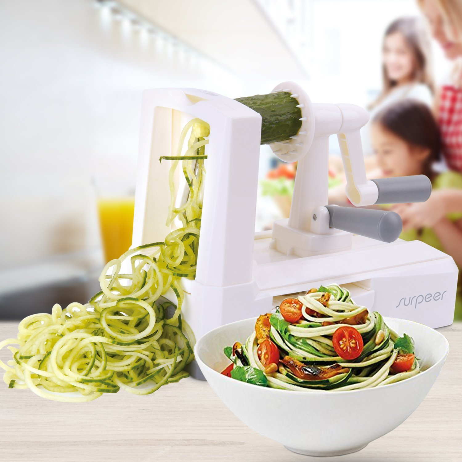 Vegetable Spiralizer, Zoodles, Whole30, Paleo