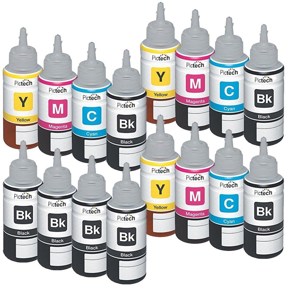 Pictech – Recambio de tinta compatible botellas botellas de tinta ...