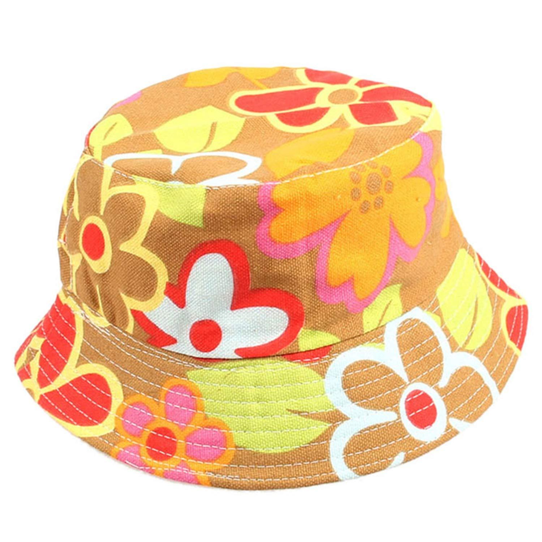 New Summer Kids Girl Baby Outdoor Bucket Hats Sunhat Beach Beanie Caps Travel Baby Clothing Accessories