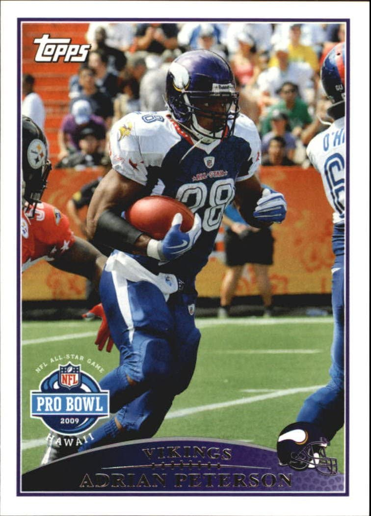 2009 Topps Football Card #291 Adrian Peterson