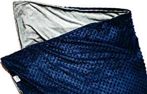 """Weighted Blanket Gifting 4-Piece Set - 15 LBS Cooling Blanket with Two Washable Covers and Travel Bag I 60"""" x 80"""" I Full Size Bed I Twin Size Bed I 15 LB Blanket for Individuals Between 100-180 lbs"""