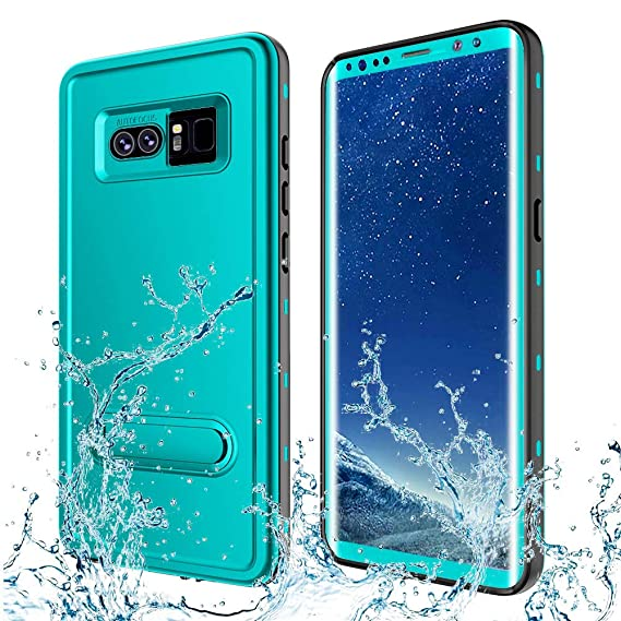 buy popular 9aa37 892b4 Transy Samsung Galaxy Note 8 Waterproof case,IP68 Certified Full-Body  Protective Underwater Cover with Built-in Screen Protector Design for  Galaxy ...