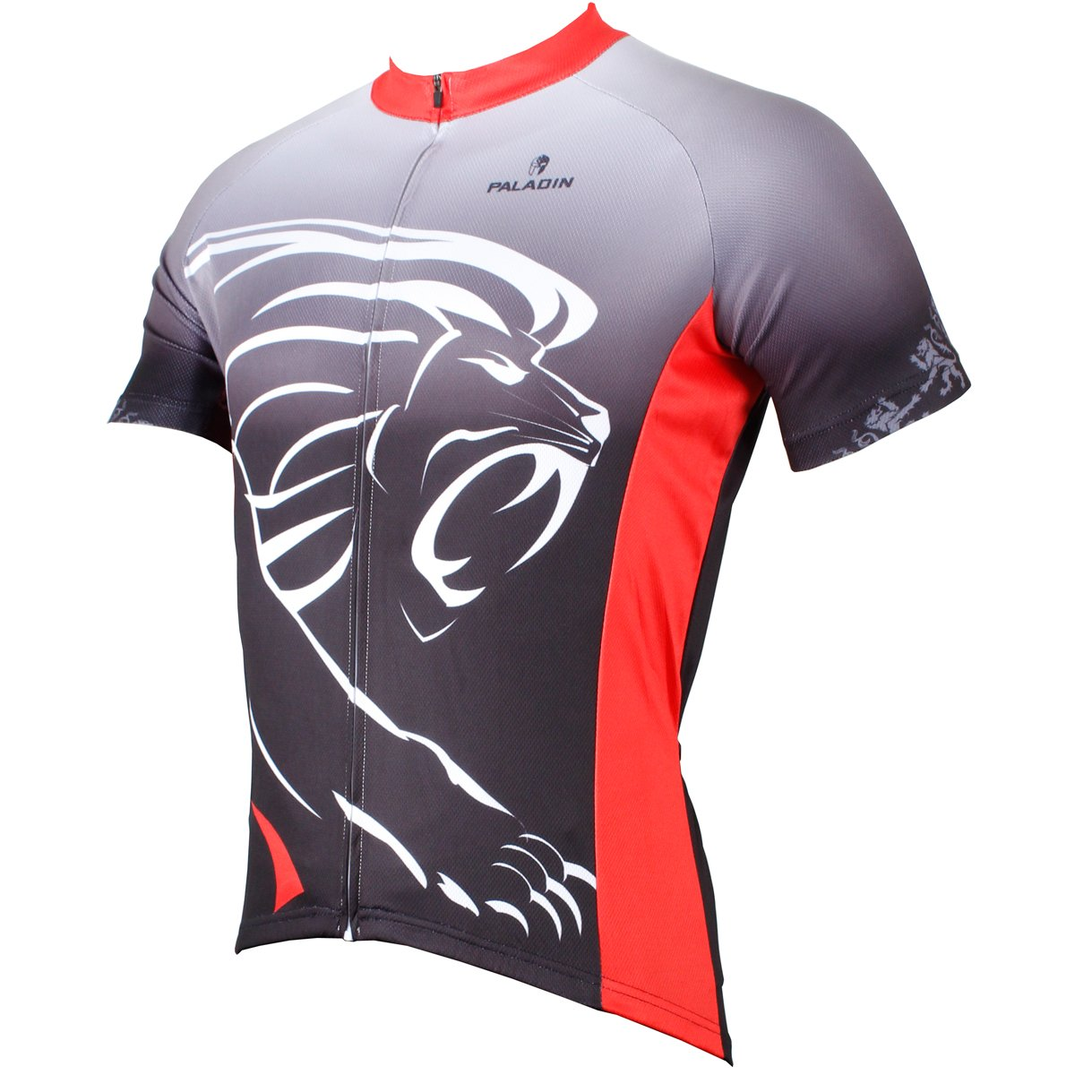 2466235d3 Amazon.com   Paladin Cycling Jersey for Men Short Sleeve Lion Pattern Bike  Shirt   Sports   Outdoors