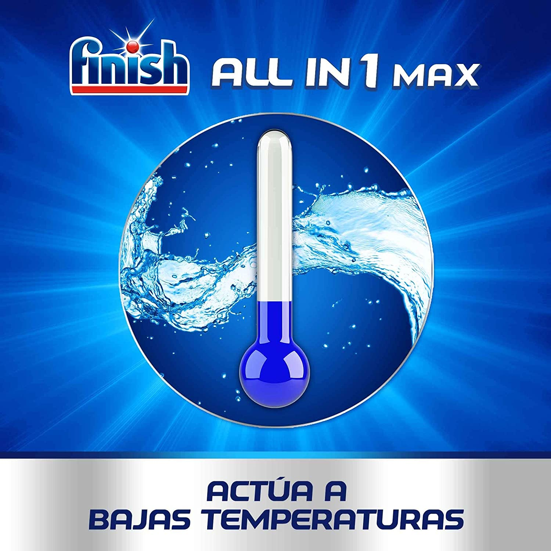 Finish Powerball All in One Max - Pastillas para el lavavajillas ...
