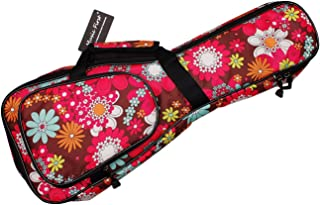 MUSIC FIRST 21' Soprano 23' Concert Cartoon Flower Ukulele Bags Gig Bags Guitar Cases ukulele cover