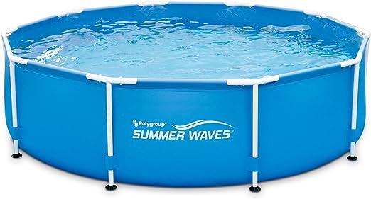 SUMMER Waves p20010300000 Piscina sobre Suelo Tubular Metal Frame ...