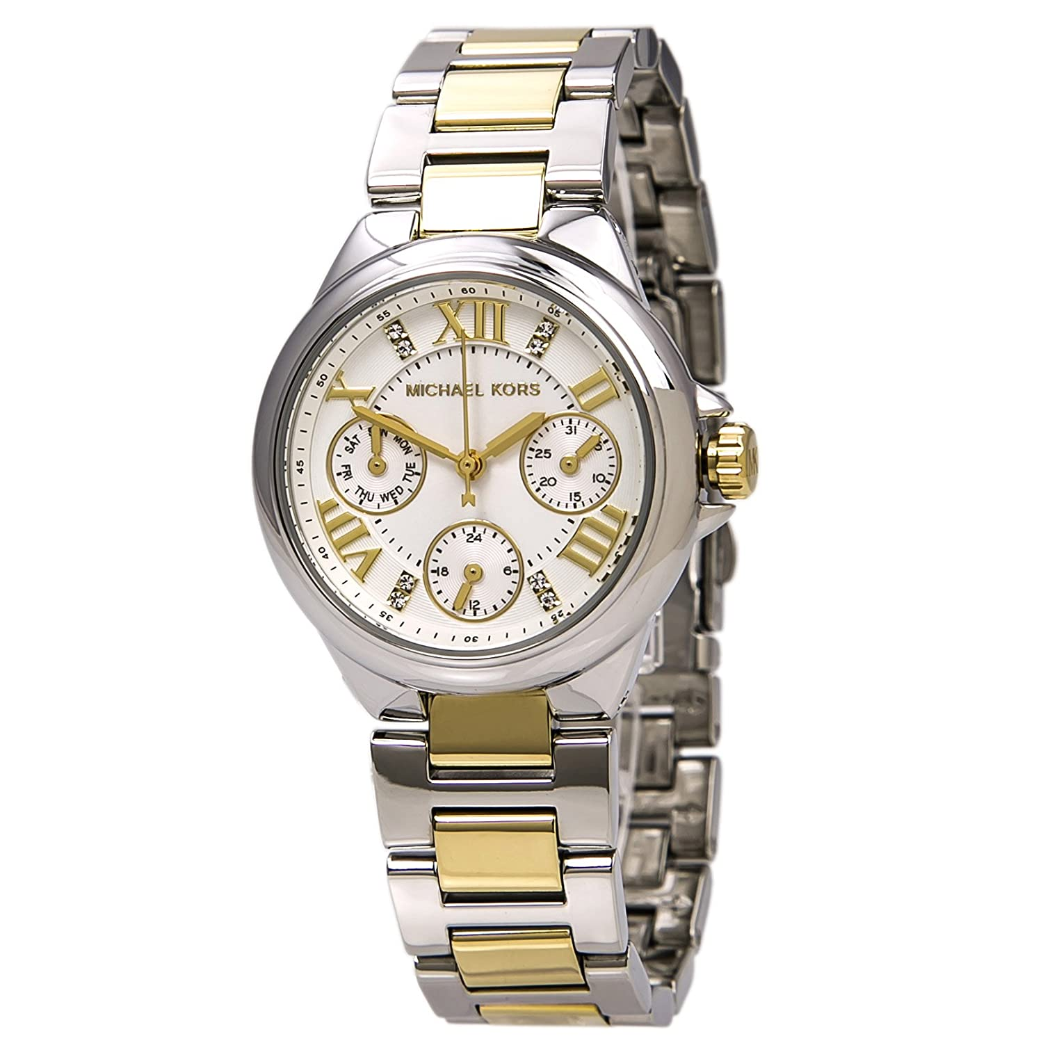 Michael Kors Camille Silver Tone Multifunction Watch by Michael+Kors