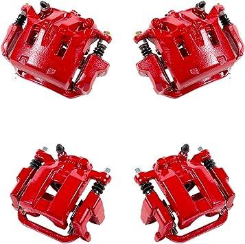 REAR Premium Grade Semi-Loaded OE Caliper Assembly Set Kit Callahan CCK02837 FRONT 4
