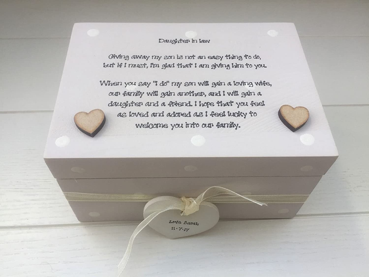 Gift For A Daughter In Law On Her Wedding Day From Mother Of The