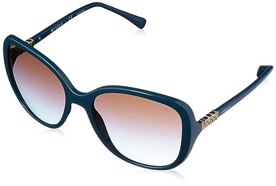 Vogue 0Vo5154Sb, Gafas de Sol para Mujer, Petroleum Green ...