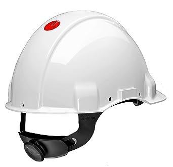 3M G3001MUV1000V-VI - G3001 Casco, sin ventilación, DIELÉCTRICO 1000V, blanco,
