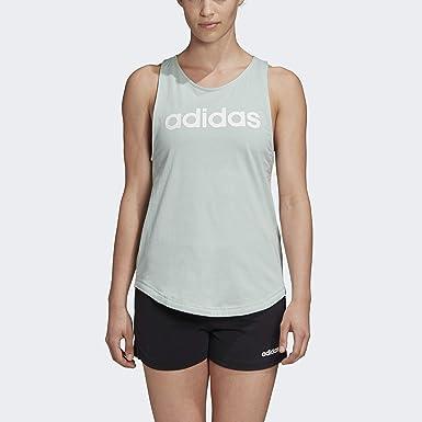 adidas Essentials Linear Loose Tank Camisa Mujer