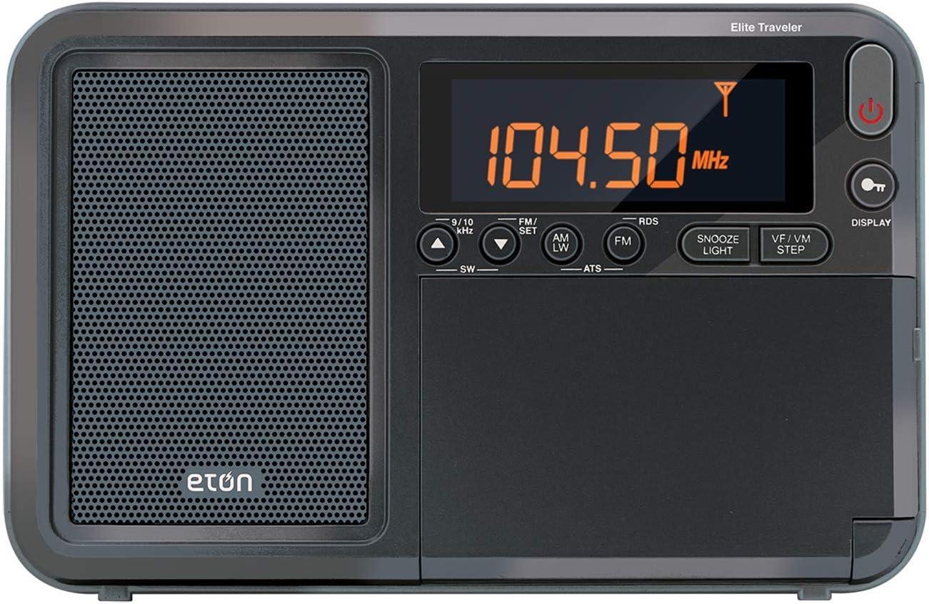Eton Elite Field AM/FM/Shortwave Desktop Radio with Bluetooth: Electronics