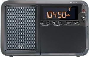 Eton Elite Traveler AM/FM/LW/Shortwave Radio with RDS & Custom Leather Carry Cover