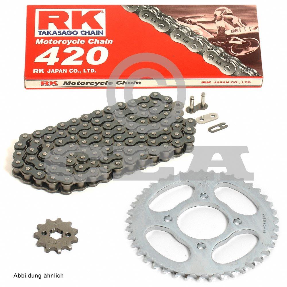 Kette RK 420 110 11//48 offen Kettensatz Yamaha DT 50 MX 82-89