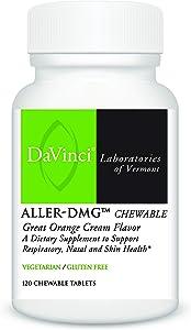 Davinci Laboratories - Aller-DMG Chewable, Histamine Blocker with Quercetin and Bromelain, 120 Count