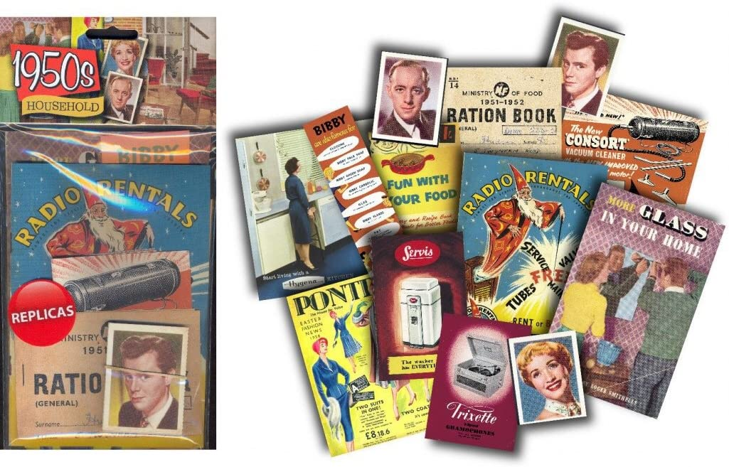 1950/'s Household Activity Memory Pack Dementia