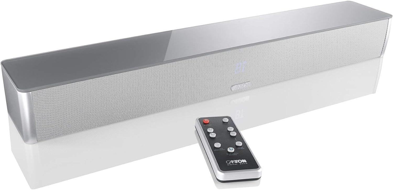 Canton 03793 - DM 5, 2.1 Virtual Surround System (120 vatios), Plateado