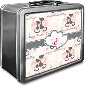 Gatos en el amor caja de almuerzo (personalizado): Amazon.es: Hogar