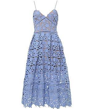 6faf877bf70acb SELF-PORTRAIT Laelia guipure lace midi dress: Amazon.ca: Office Products