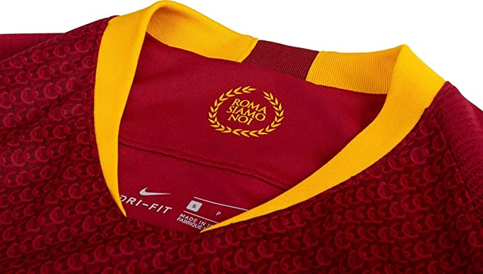 de0267d2f18 Nike Men's Breathe A.s. Roma Home Stadium T-Shirt: Amazon.co.uk: Sports &  Outdoors
