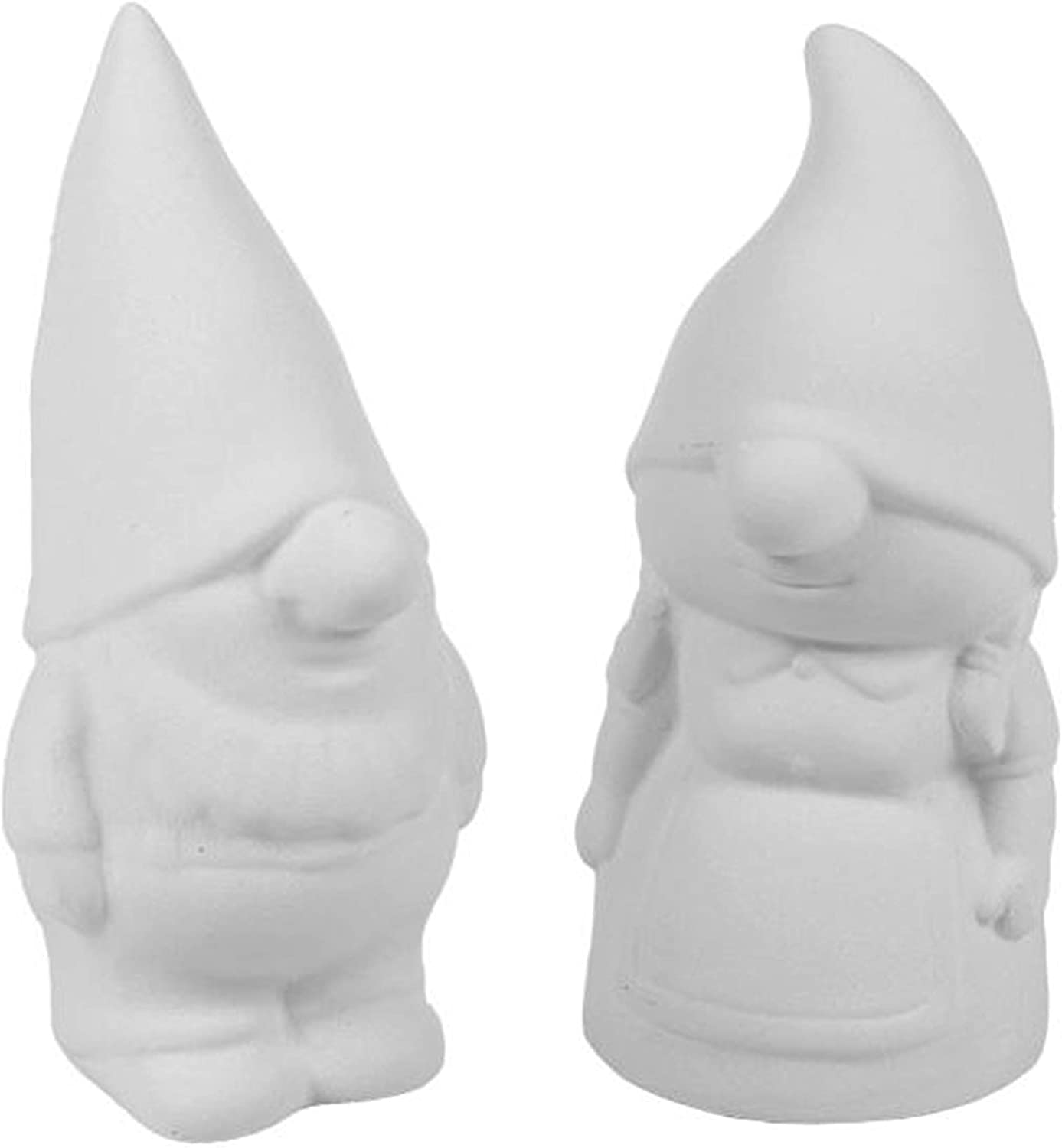 Gibson and Gretta The Garden Gnomes - Paint Your Own Gnome-y Ceramic Keepsakes