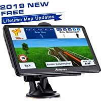 GPS Navigation 7 inch HD Universal GPS Smart Voice Reminder 8 GB ROM 256 MB Global Navigation Satellite System - Newest Map + Lifetime Free Updates