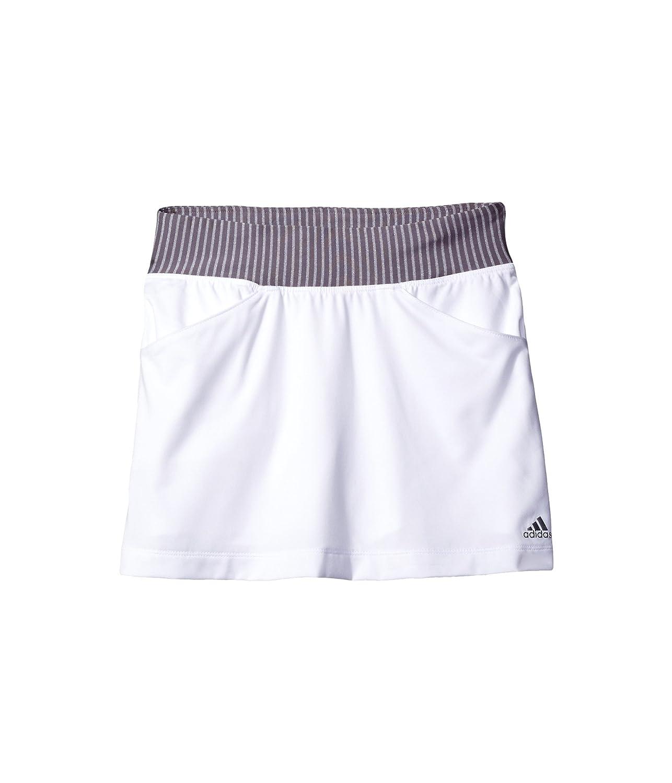 [アディダス] adidas Golf Kids ガールズ Rangewear Skorts (Big Kids) スカート White XL (16 Big Kids) [並行輸入品]   B01MUT3EX6