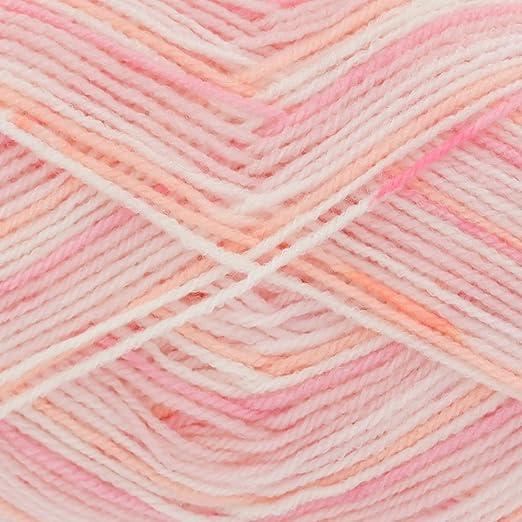 100g Big Value Baby Chunky Yarn /& Free Knitting Pattern King Cole Wool 1 3 6 12