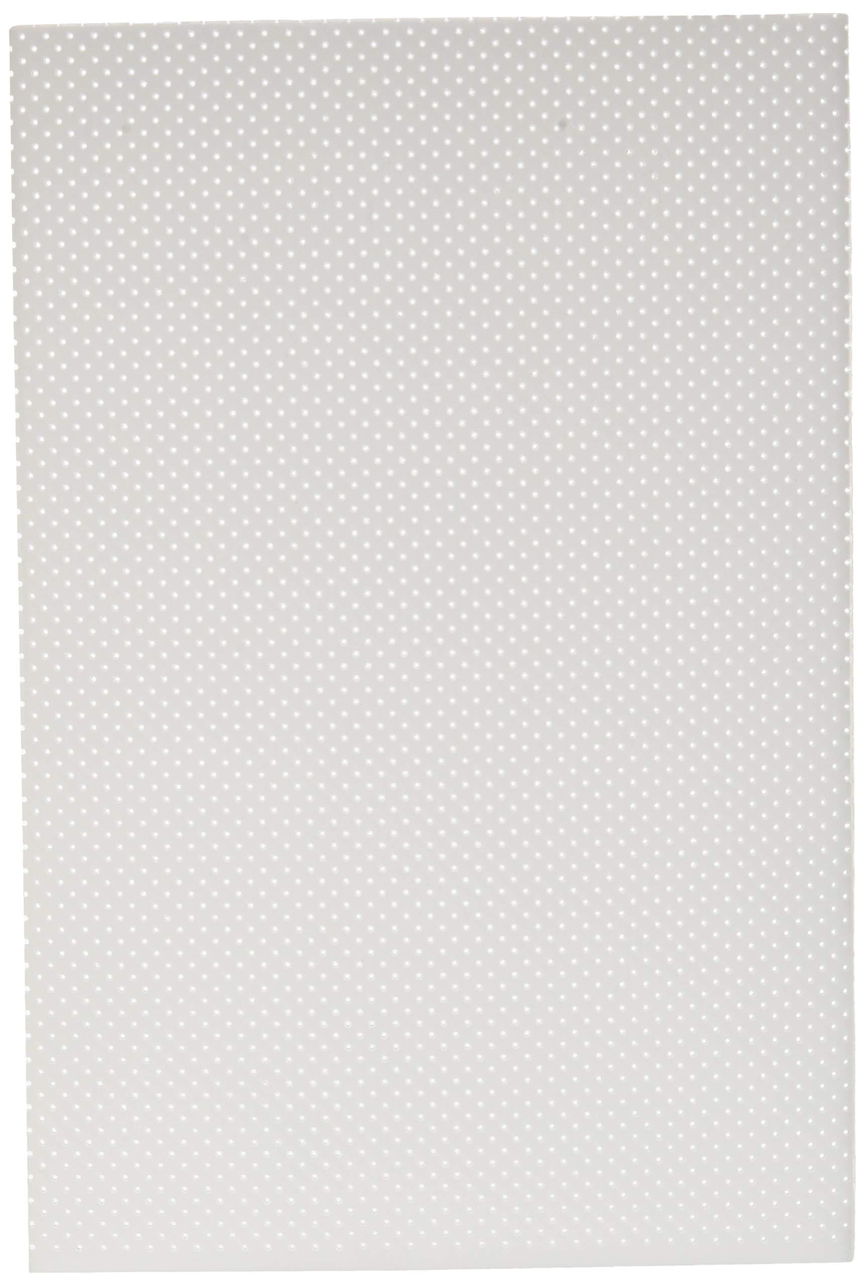 13/% UltraPerf Perforated Single Sheet 1//16 x 6 x 9 Aquaplast-T Rolyan Splinting Material Sheet White