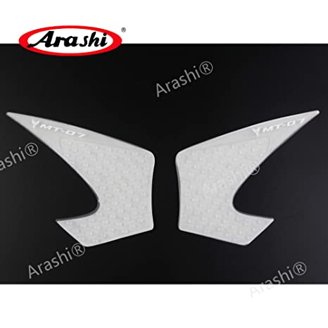 Motorcycle Gas Tank Pads For Yamaha Mt07 2013 2014 2015 2016 Knee Grip Protector Protective Fuel Sticker Side Pad Mt-07 Mt 07 Motorbike Accessories Automobiles & Motorcycles