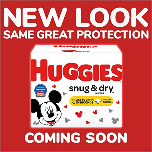 HUGGIES Snug & Dry Diapers, Size 4, 192Count (Packaging May Vary)