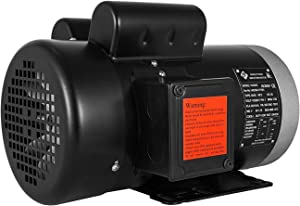 Mophorn 2 Hp Electric Motor Rated Speed 1725 RPM Single Phase Motor AC 115V 230V Air Compressor Motor 56C Frame Suit for Agricultural Machinery and General Equipment