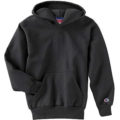 bb2ff2e5541 Amazon.com  Champion Big Boys  Eco 9 Oz. 50 50 Full-Zip Hoodie  Clothing
