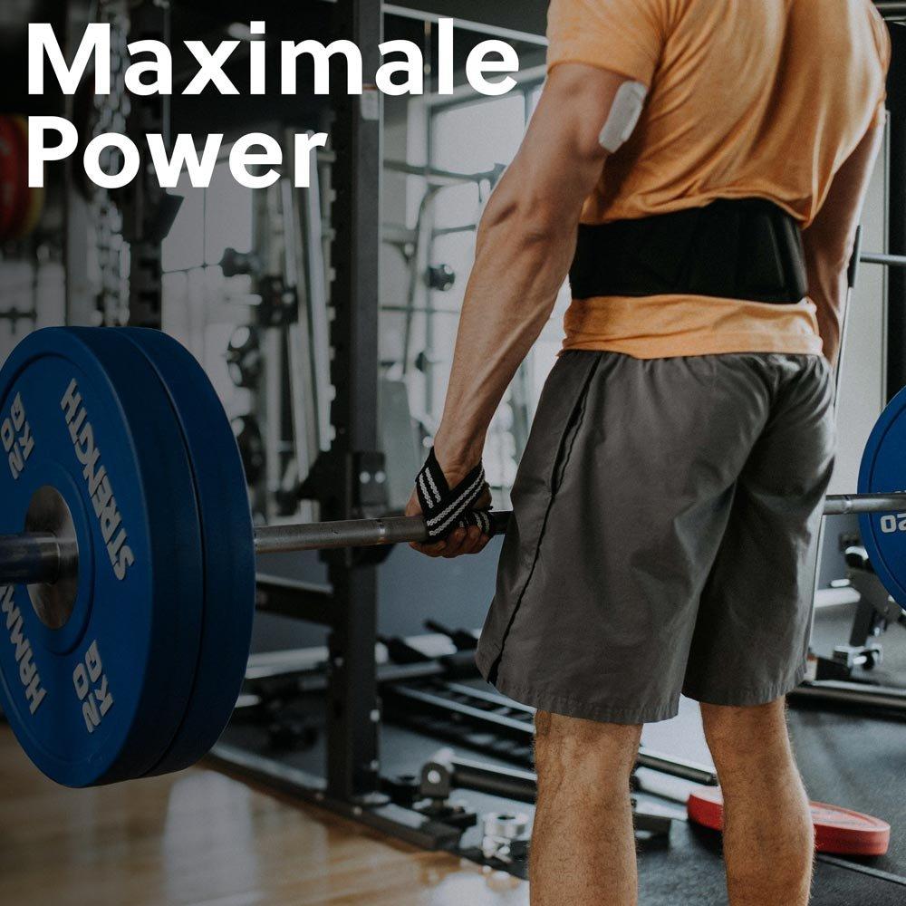 c572b838e256c Gewichthebergürtel für Damen   Herren - (Stabilität + Schutz für deinen  Rücken) - Perfekt für Fitness
