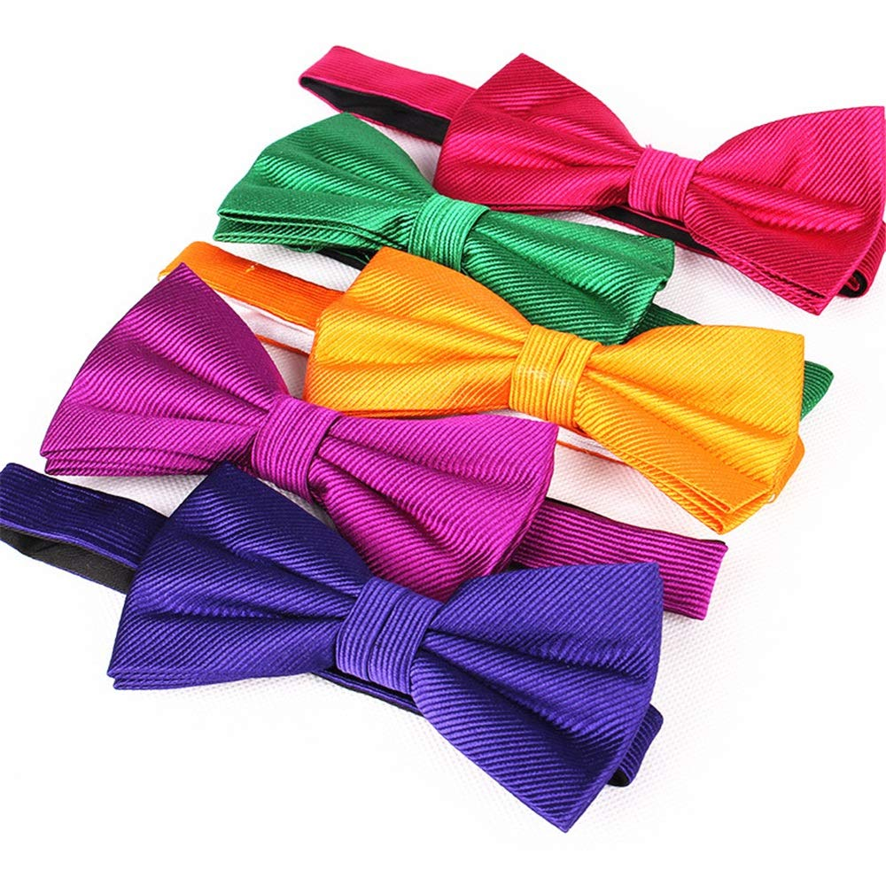 Natural Necktie Men's Pre Tied Ties for Wedding Party Fancy Adjustable Necktie (color   Natural)