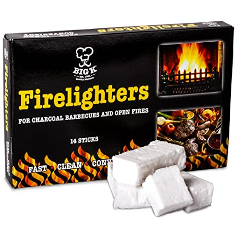 Barbacoa encendedores fuego luz bloques de chimenea chimeneas estufas INCENDIOS campamento BBQ – viene con el