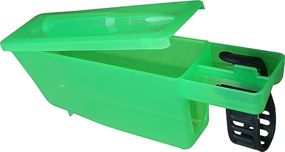 MTM Gun Cleaning Patch Catcher (Clear Green)