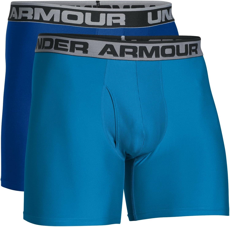 Under Armour Herren Sportswear Unterhose 2er Packung 1 Paar Heatgear 6 Zoll Boxerjock