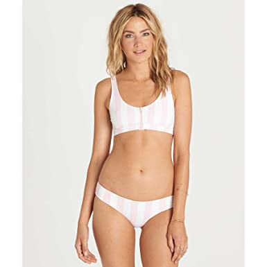 12c3969bc0 Amazon.com: Billabong Women's No Worries Tank Bikini Top, Seashell ...