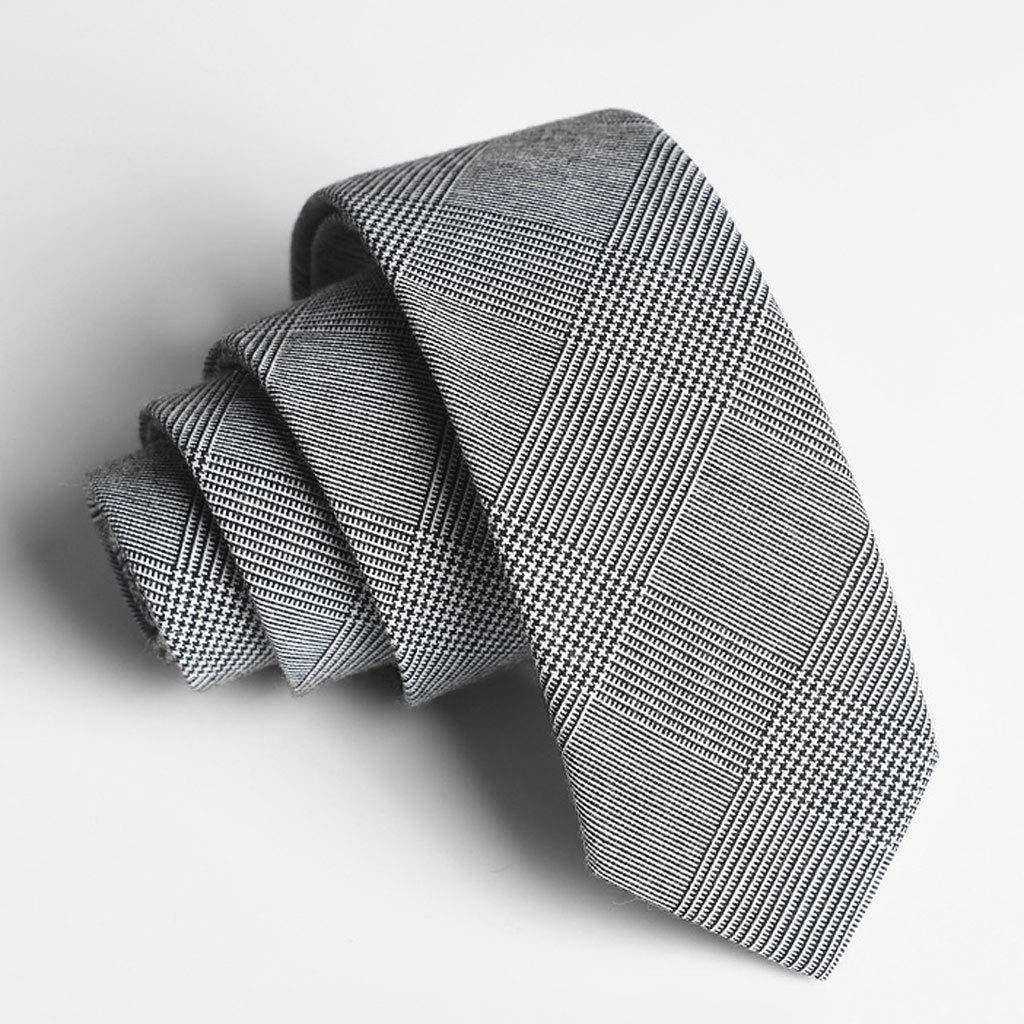 Wangyi Corbata- Corbata de Lana Coreana para Hombres, Negocios ...