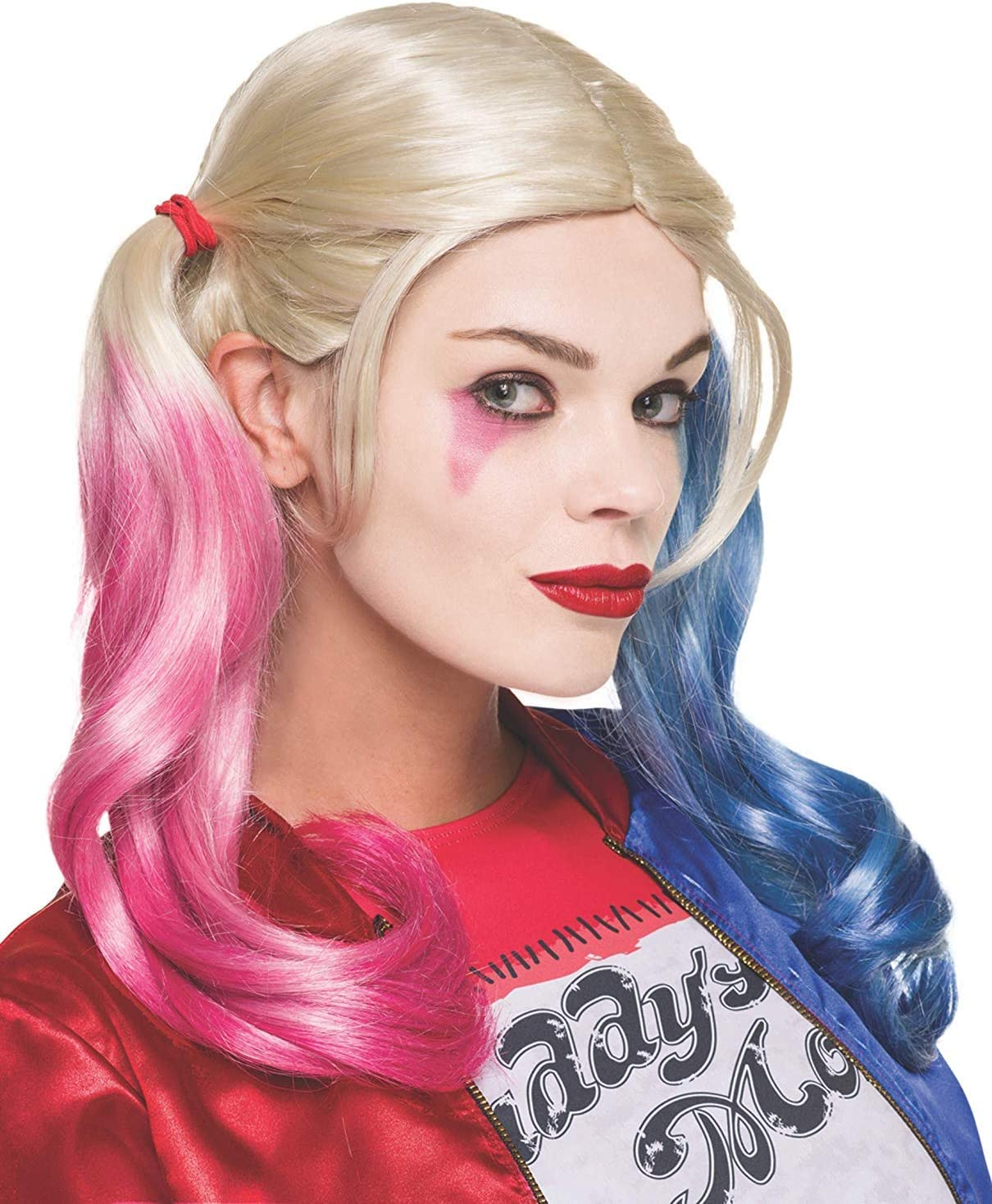 ML Peluca Peluca Disfraz Harley Quinn Suicide Novia de Joker para ...