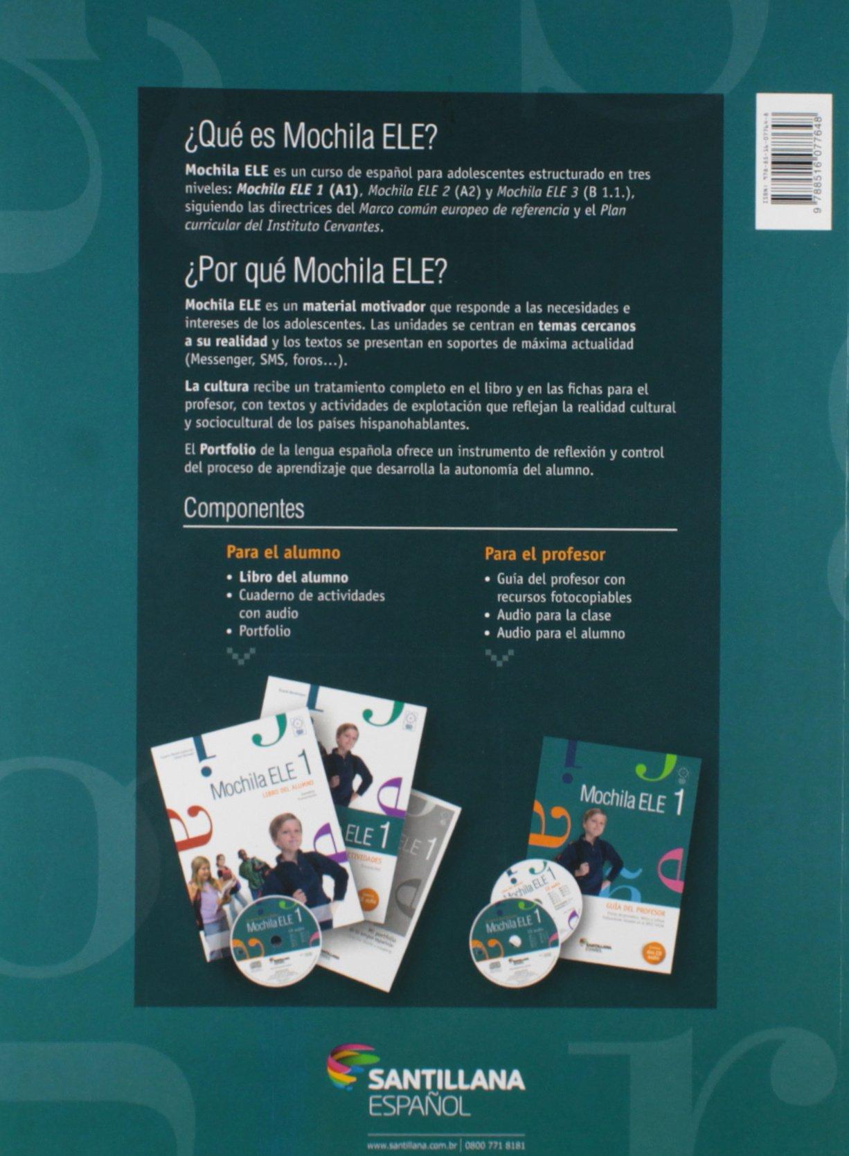 Mochila ELE 1. Libro del Alumno (Em Portuguese do Brasil): Susana Mendo: 9788516077648: Amazon.com: Books