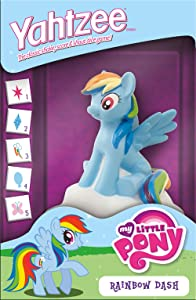 USAopoly Yahtzee: My Little Pony Rainbow Dash Board Game