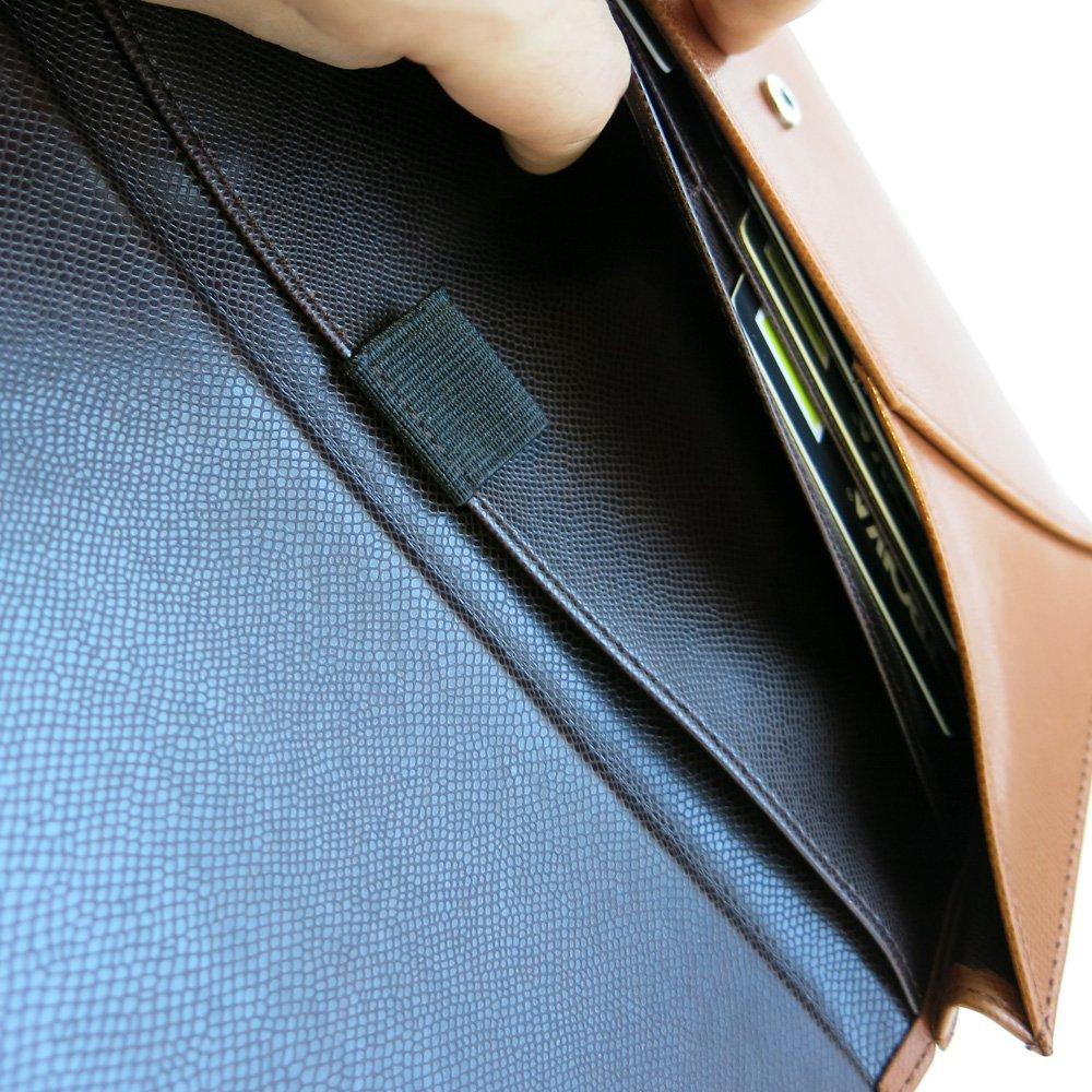 Caramel//Dark Brown TRW12//CC 26 cm Troika Travel Passport Wallet